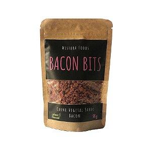 Bacon Bits Vegano Carne Vegetal Sabor Bacon Mistura Foods 90g