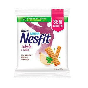 Biscoito Nesfit Sem Glúten Cebola E Salsa Nestle Unidade