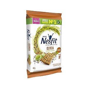 Biscoito Nesfit Quinoa E Alho-poró Nestle Contendo 4 Pacotes De 21g Cada