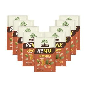 Remix Mãe Terra Sementes Contendo 9 Unidades