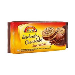 Biscoito Recheado Chocolate Sem Lactose Liane 390g