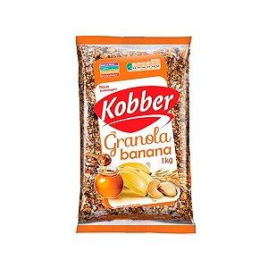 Granola Banana E Mel Zero Açúcar Kobber 1kg