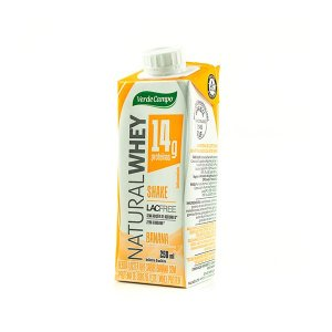 Shake Natural Whey Verde Campo Banana 250ml