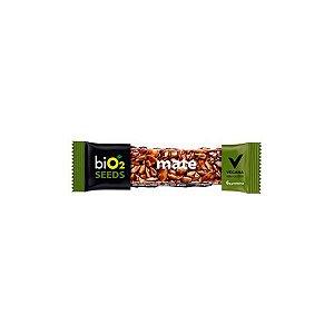 Barra De Sementes Mate Coberto Com Chocolate Meio Amargo Bio2 Seeds Unidade