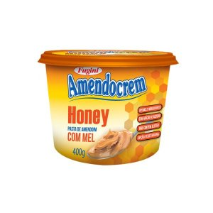 Pasta De Amendoim Com Mel Honey Amendocrem Fugini 400g