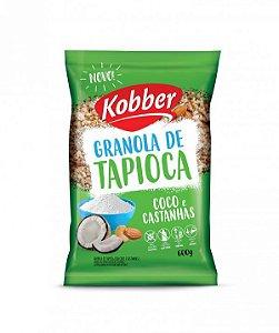 Granola De Tapioca Coco E Castanhas Zero Lactose, Zero Glúten Kobber 200g