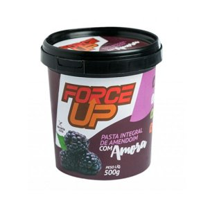 Pasta De Amendoim Force Up Com Amora 500g