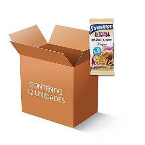 Bolinho Integral Zero Açúcar Nozes Suavipan Contendo 12 Bolinho De 40g Cada