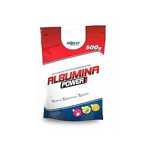 Albumina Power Zero Açúcar Absolut Nutrition Morango 500g