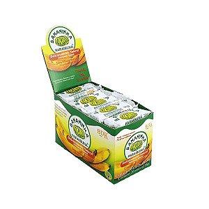 Bananinha Paraibuna com Açúcar Natural contendo 20 unidades de 36g cada