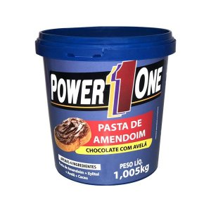 Pasta de Amendoim Chocolate com Avelã Power1One 1,005g