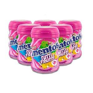 Mentos Garrafa Zero Açúcar Tutti Frutti contendo 6 frascos