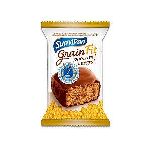 Pão de Mel Integral 7 cereais Fit Suavipan 35g