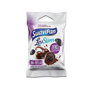 Drageados Zero Açúcar Uva-Passa coberto com Chocolate Suavipan 40g