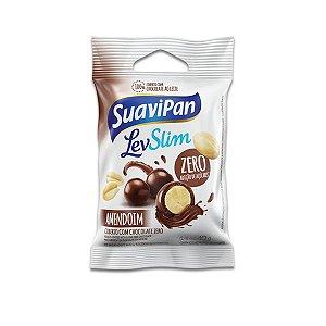 Drageados Zero Açúcar Amendoim coberto com Chocolate Suavipan 40g