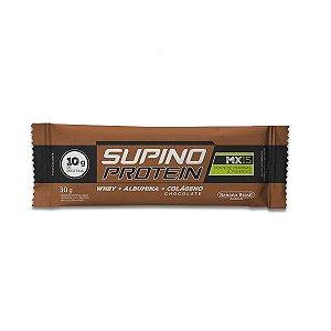 Supino Protein Chocolate Whey + Albumina + Colágeno 30g