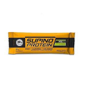 Supino Protein Baunilha com Crispies Whey + Albumina + Colágeno 30g