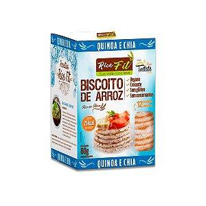 Biscoito de Arroz Quinoa e Chia Rice Fit 80g