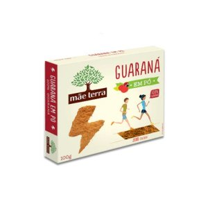 Guaraná em Pó Mãe Terra 100g
