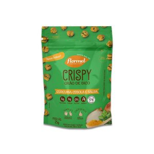 Grão De Bico Crispy Flormel Com Cúrcuma, Cebola e Salsa Contendo 25g