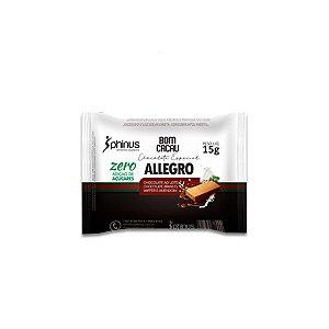 Allegro Wafer coberto com Chocolate ao Leite e Branco Diet Phinus Bom Cacau 15g