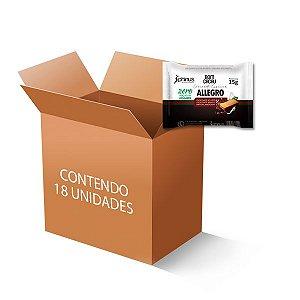 Allegro Wafer coberto com Chocolate ao Leite e Branco Diet Phinus Bom Cacau contendo 18 unidades de 15g cada