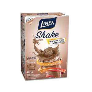 Shake Zero Açúcar, Zero Glúten Linea Chocolate 400g