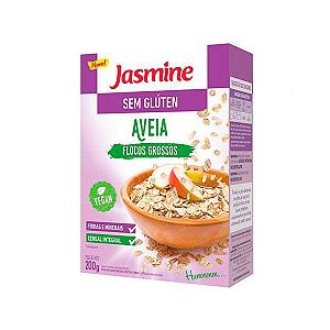 Aveia Em Flocos Grossos Suply Sem Glutén Jasmine 200g