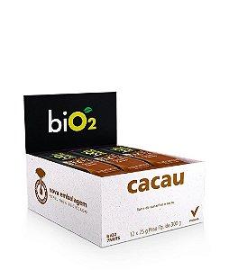 Barra De Castanhas E Cacau Bio2 7nuts Contendo 12 Unidades De 25g Cada