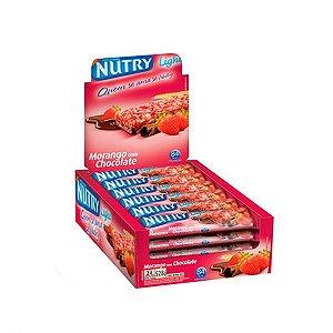 Barra De Cereais Nutry Morango C/chocolate C/24