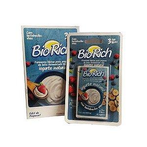 Bio Rich Fermento Lácteo Contendo 3 Sachets De 400mg Cada