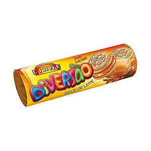 Biscoito Recheado Doce De Leite Sem Lactose Liane 115g