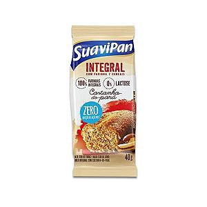 Bolinho Integral Zero Açúcar Castanha Do Pará Suavipan 40g