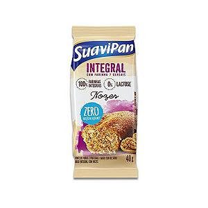 Bolinho Integral Zero Açúcar Nozes Suavipan 40g