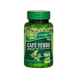 Café Verde Unilife Contendo 90 Comprimidos De 400mg Cada