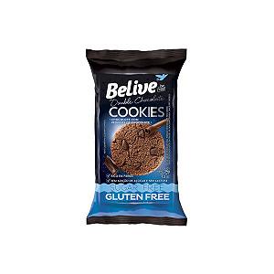 Cookies Belive Be Free Double Chocolate Sem Glúten E Zero Açúcar 34g