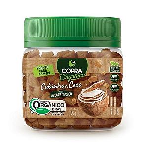 Cubinhos De Coco Com Açúcar De Coco Copra 90g