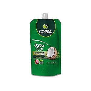 Óleo de Coco Extravirgem Copra Pouch contendo 3 unidades de 100ml cada
