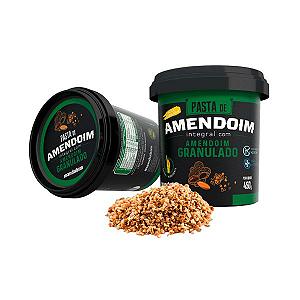 Pasta De Amendoim Integral Com Amendoim Granulado Mandubim 450g