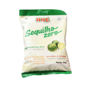 Sequilho Zero Açúcar, Zero Glúten Hué Limão 120g