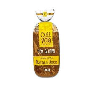 Pão de Forma Batata Doce sem gluten e sem lactose CeliVita 300g