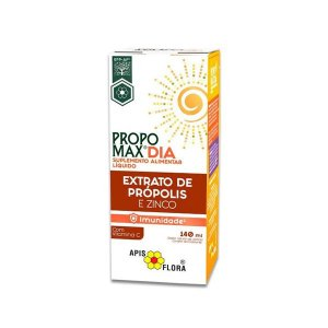 Propomax Dia Extrato de Propólis e Zinco - Suplemento Alimentar Apis Flora 140ml