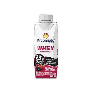 Whey Zero Lactose Frutas Vermelhas Piracanjuba 250ml