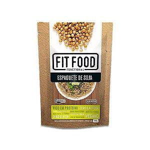 Espaguete de Soja Zero Glúten, Lactose, Orgânico Fitfood 200g