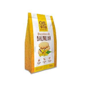 Biscoitos de baunilha sem gluten e sem lactose CeliVita 100g