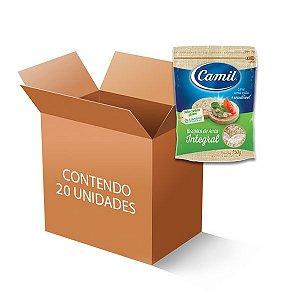 Biscoito De Arroz Integral Camil contendo 20 unidades de 150g