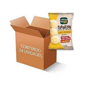 Tapiokitas Chipps de Tapioca Queijo Grelhado Roots to go contendo 24 unidades de 35g
