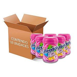 Mentos Garrafa Tutti Frutti contendo 18 unidades