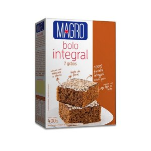 Mistura para Bolo Integral 7 Grãos Magro 400g