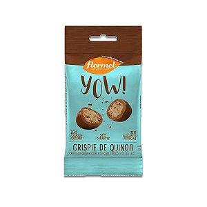 Crispie de Quinoa com Chocolate ao Leite Flormel Yow! 40g